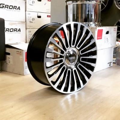 В наличии комплекты литых дисков с эксклюзивным дизайном в стиле Mansory CS.11! Засняли как выглядит новый тренд на колпачки в движении😏  21х9.5 ET40 5x120 22x9.5 ET40 5x120  Отлично подойдут для Range Rover Vogue, Sport, Discovery!