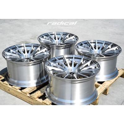 Radical RDL-15 для Audi A5 готовы👌🏻 . Классический многоспицевый дизайн. . ✅Полированная степ-полка ✅Центр - шлифований алюминий под прозрачным лаком ✅Стандартный (не скрытый) крепёж  #forged #6061t6 #customforged #radicalforged #forgedwheels #wheels #radicalrims #lowcars #stance #stancenation #low #stanceworks #dropped #cars #tuning #диски #красивыедиски #дискисполкой #кованыедиски #ковка #concavewheels #wheelwhores #wheelwednesday #brushedwheels