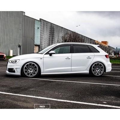 Veemann V-FS35R  В наличии!  19x8.5 | ET42 | 5x112 | Gloss Graphite  19x9.5 | ET42 | 5x112 | Silver Machined  Цена за комплект - 85.000р  #veemann #vfs35r #wheels #audi #fitment #vw #дискиауди #диски #шиныдиски